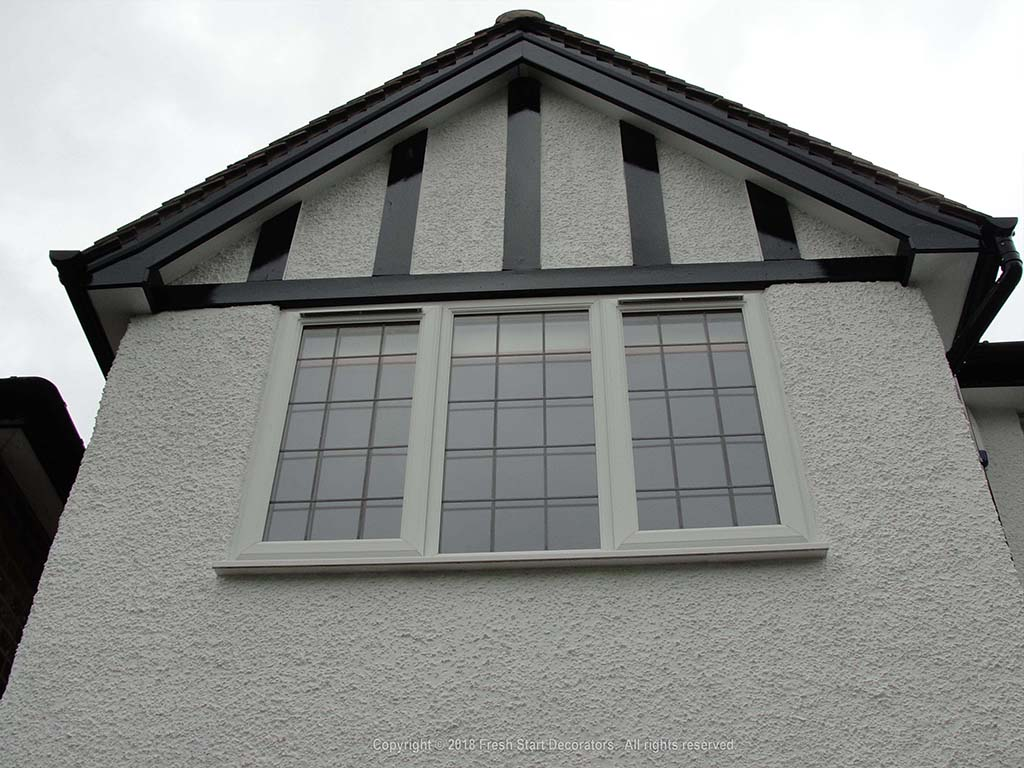 painting exterior of property in solihull