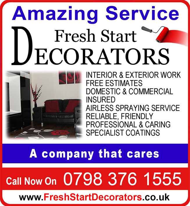 Birmingham painter and decorator dressed in workwear