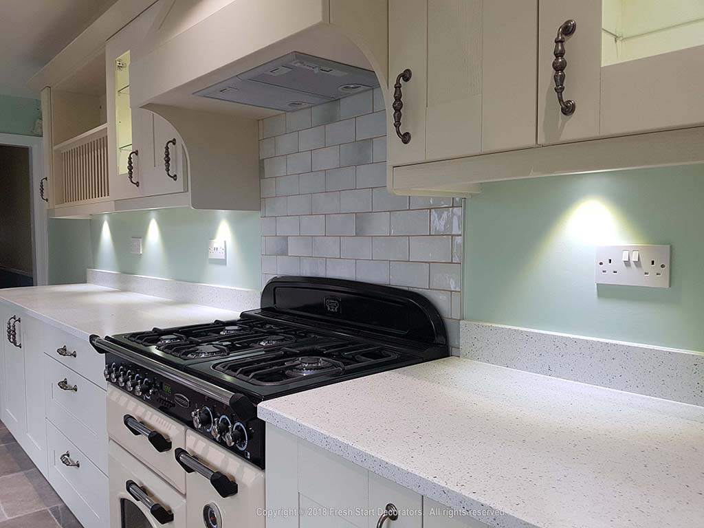 Kitchen painted by Fresh Start Decorators