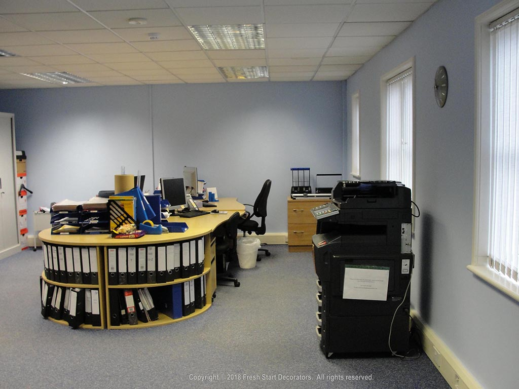 commercial painters in birmingham paint offices