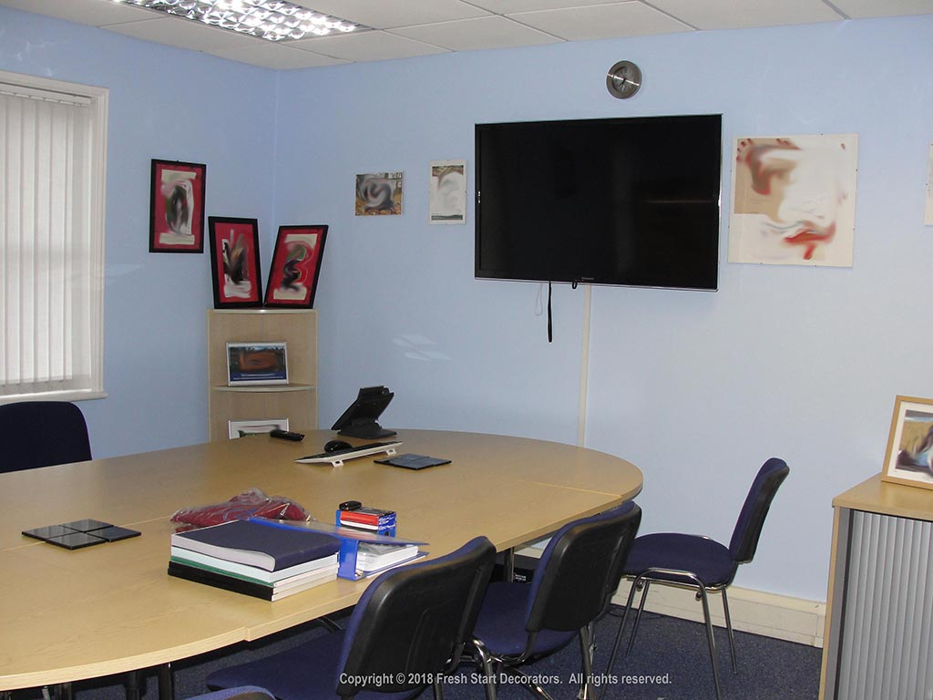 commercial painters in birmingham paint office